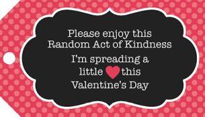 Free Valentine RAOK tag