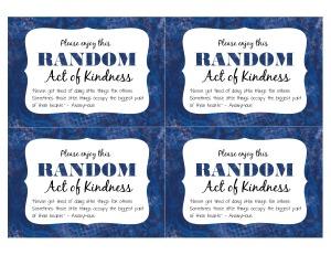 RAOK card free printable