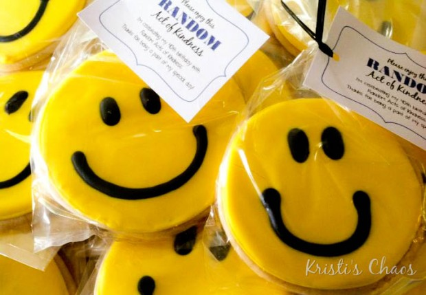 Smiley Cookies for RAOKs